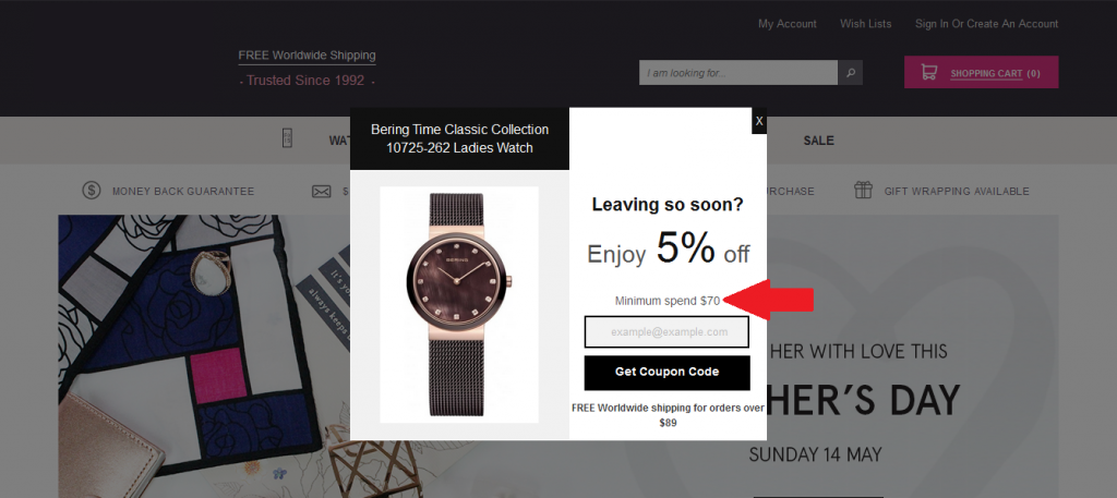 7 ways to increase average order value for ecommerce keptify discount on minuimum purchase fandeluxe Image collections