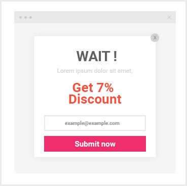Keptify relevant exit intent cart abandonment popups normal layover fandeluxe Image collections