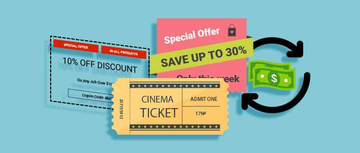 Coupon Codes, Vouchers and Cashback