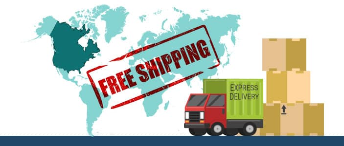 Location Specific Free Shipping